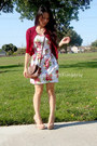 Red-roses-unknown-dress-brown-crossbody-express-bag-red-unknown-cardigan-b