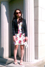 Red-roses-dress-black-h-m-jacket-eggshell-vince-camuto-heels