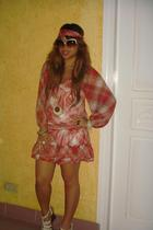Hatoya dress - white shoes from Esperanza - prp sunglasses - Terra Nova accessor