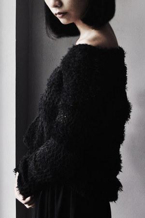 black Arizona Jean Company boots - black Charlotte Russe sweater