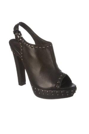leather Diavolina heels