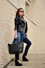 Navy-new-yorker-jeans-black-leather-zara-jacket-blue-denim-shirt-h-m-shirt