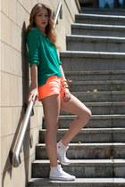 new shorts - Mango sweater - H&M bracelet