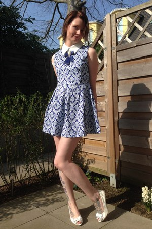 blue Chicwish dress