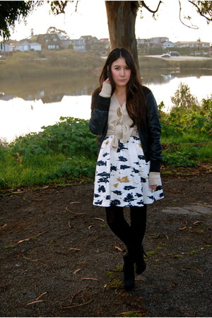 Twinkle By Wenlan dress - Topshop boots - Gap jacket