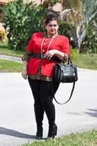 black seychelles boots - black black leggings Target leggings