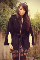 Forever New coat - JayJays skirt - vintage shirt - KANI accessories - Henry Holl