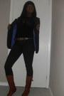 H-m-blazer-forever-21-shirt-gap-jeans-steve-madden-boots-gap-belt