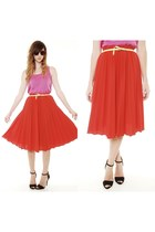 Polyester-the-kissing-tree-vintage-skirt