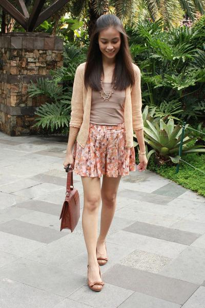tawny Miss Selfridge shorts