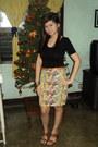 Triumph-t-shirt-vintage-skirt