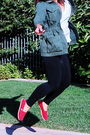 Red-toms-shoes-black-luna-chic-leggings-blue-zara-shirt-green-kirra-jacket