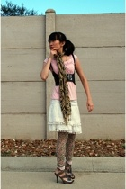 Secondhand shirt - Palais Royal skirt - Claires tights - Dollhouse shoes - 579 v