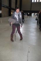 marc bag - Office shoes - Topshop coat - Lux pants