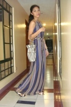 Moonshine dress - from hong kong purse - ilaya shoes - Girl Shoppe scarf - acces