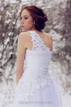 white lace Msdressy dress