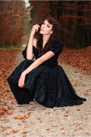 black unknown brand dress - brown Ann Christine belt