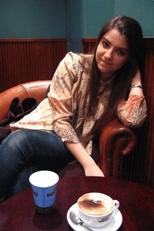 blouse - moto jeans - coat