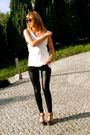 Black-h-m-leggings-white-no-name-top-black-cristfoli-shoes-black-ydeltuyt-