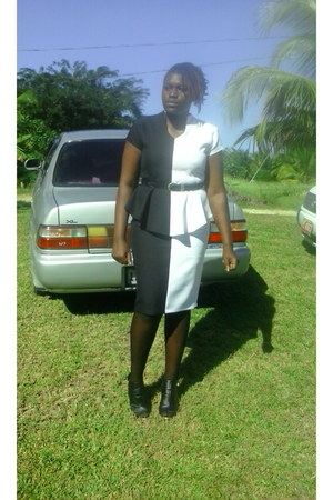heels - belt - skirt