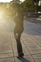 American Apparel blouse - Gap jeans - michele accessories - rachel roy shoes