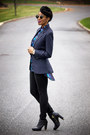 Blue-target-blouse-navy-urban-outfitters-blazer