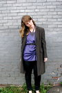 Purple-dahlia-blouse-black-vintage-jacket-black-thrifted-belt-silver-awear