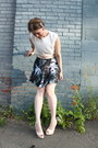 Gray-jack-bb-dakota-skirt-ivory-vintage-top-neutral-charlotte-russe-heels
