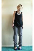 Mossimo - Ann Taylor Loft jeans - xhilaration shoes - Erickson Beamon for Target
