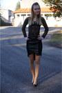 Black-zara-heels-black-new-yorker-skirt