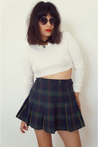plaidpleets skirt