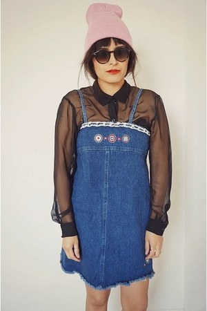 Vintage Shift Denim Dress dress
