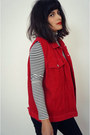 Corudroy-red-vintage-vest
