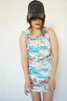 printed dress vintage dress