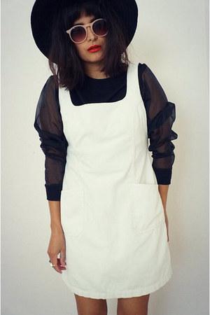jumper white dress