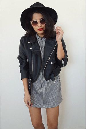 Express dress - motorcycle jacket