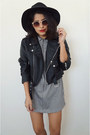 Express dress - motorcycle jacket