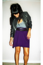 American Apparel top - American Apparel dress - Urban Outfitters jacket