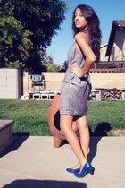 Forever21 dress - seychelles shoes