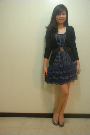 random from Bangkok dress - Zara shoes - Zara sweater
