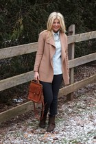 Target boots - else by macys jeans - Jacob sweater - Joe Fresh shirt - coach bag