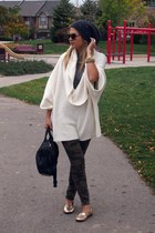 Express sweater - H&M hat - MBMJ shirt - Alexander Wang bag - Zara pants