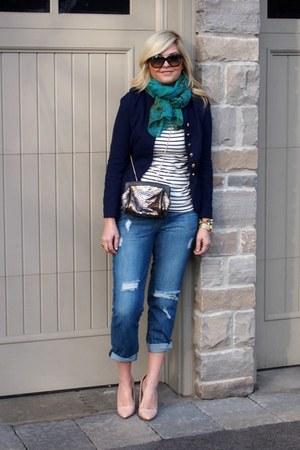 Zara shoes - f21 jeans - Esther Boutique jacket - Forever 21 shirt