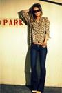 Beige-wedge-booties-aldo-boots-blue-slim-bell-jeans-genetic-denim-jeans-shad