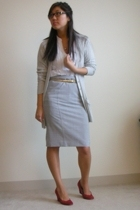 Kimchi&Blue shirt - victoria secret skirt - Marc by Marc Jacobs sweater - JCrew
