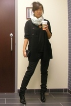 JCrew sweater - Helmut Lang pants - Alexander Wang shirt - Tahari shoes - JCrew