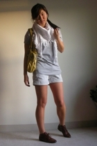 UO shirt - Chip and Pepper shorts - Jeffrey Campbell shoes - Marc by Marc Jacobs