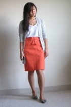 Alexander Wang shirt - JCrew skirt - Marc by Marc Jacobs sweater - Steven by Ste