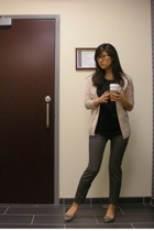 JCrew sweater - vince shirt - Zara pants - Steve Madden shoes