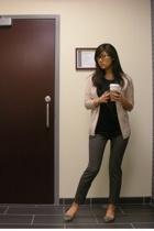 JCrew sweater - vince shirt - Zara pants - Steve Madden shoes
